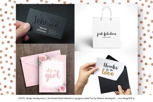 Enchanted Handwritten font by Design HQ