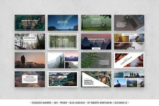 Wonderful - Social Media Template Bundle - Design HQ