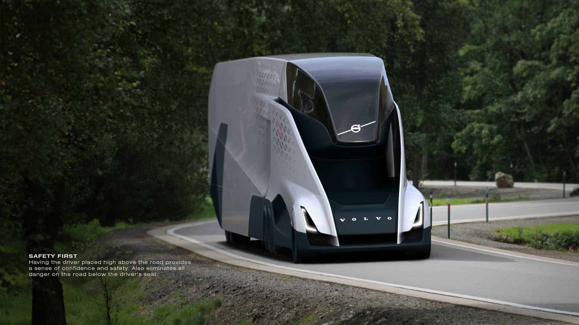 2040 Volvo VNL Concept Design by Jack Liu