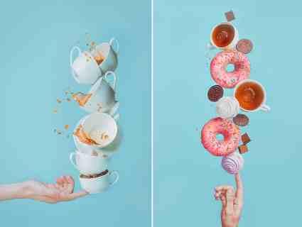 Balancing Donuts by Dina Belenko