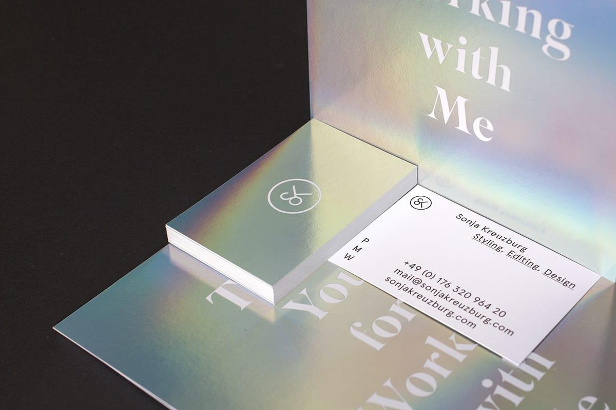 Visual artist business card ideas colourmoves