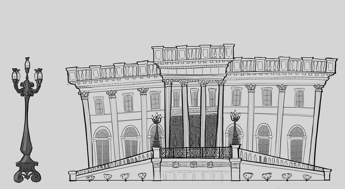Gatsby's Mansion by Cathleen McAllister - Design Ideas