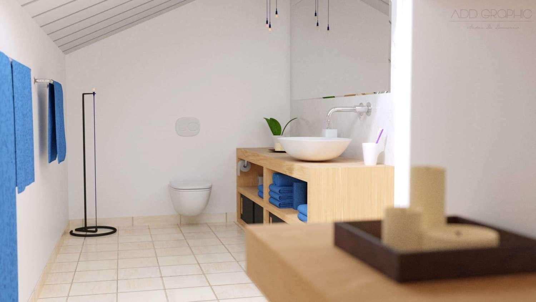 Attic Bathroom - Design Ideas