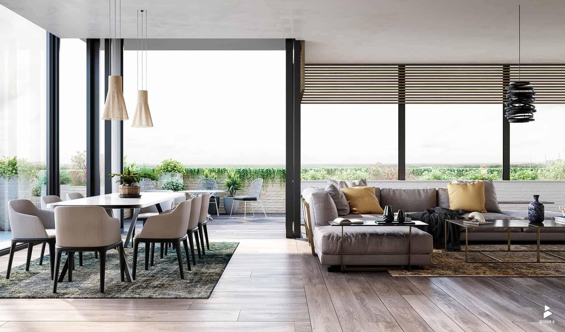 Living for Apartment - Design Ideas
