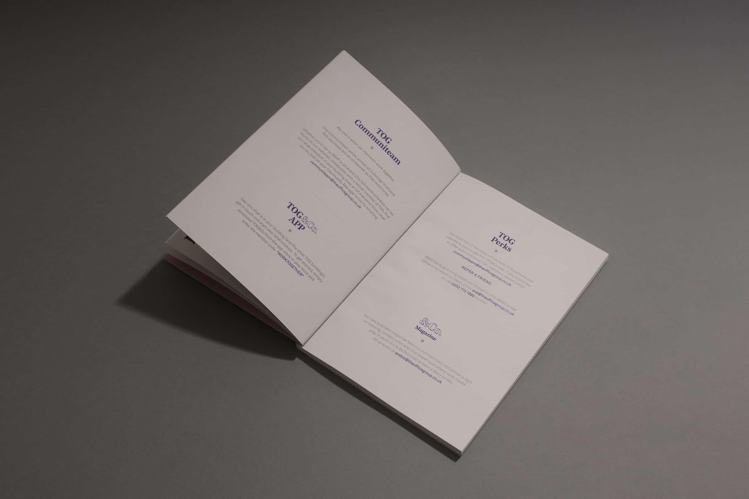 TOG Membership pack - Design Ideas