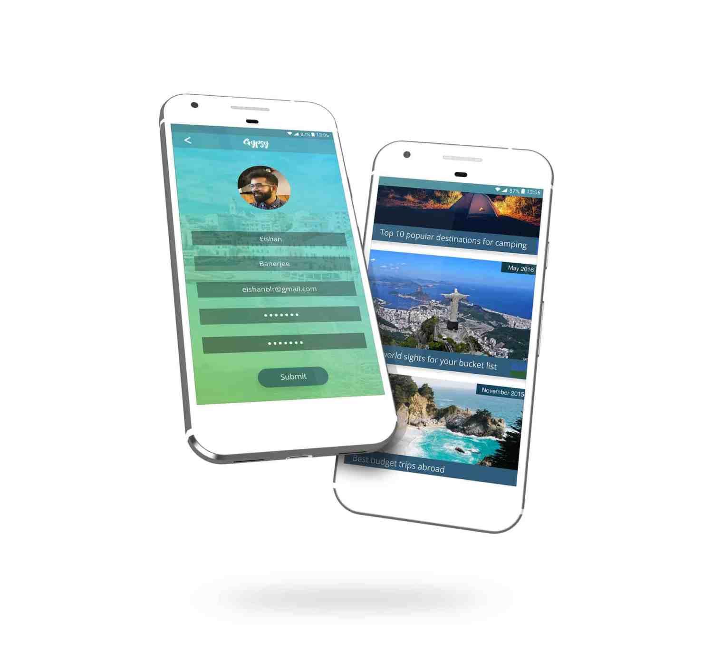 Home Design Ideas App: GYPSY: A Travel App Design Ideas