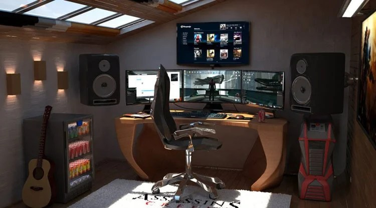 This crafty option is quick, easy, and cheap. 40 Best Video Game Room Ideas & Cool Gaming Setup (2021 Guide)