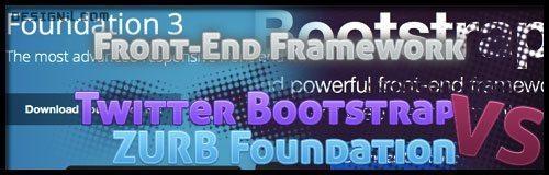 Front-End Framework : Twitter Boostrap and ZURB Foundation