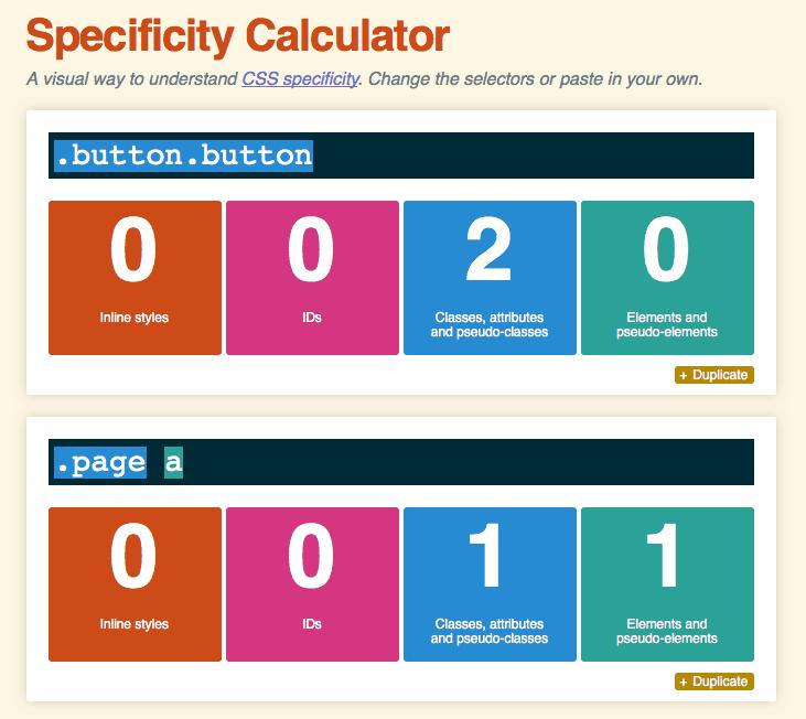 คิดค่าพลัง CSS Selector