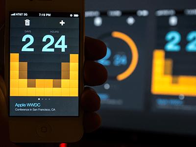 Countdown Timer UI Design
