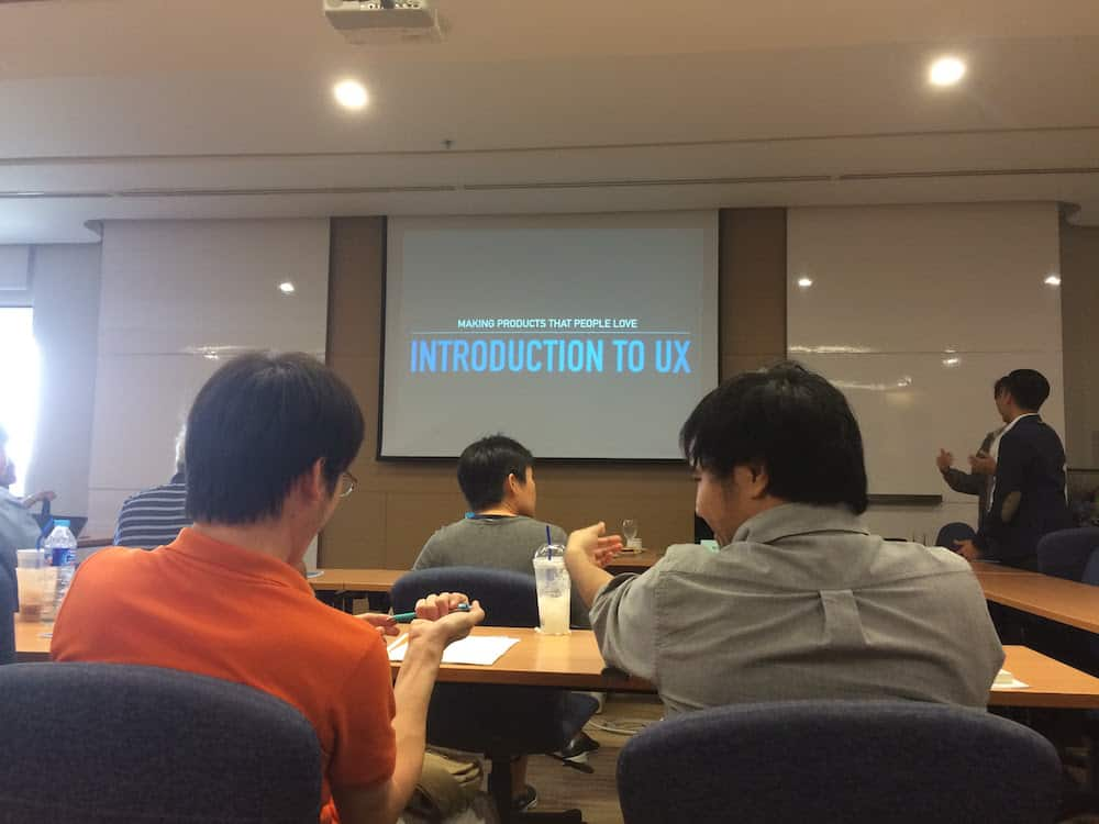 introduction to user experience workshop
