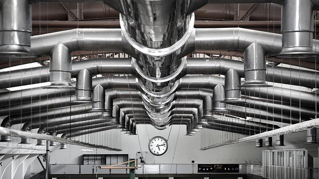 mechanical ventilation of buildings