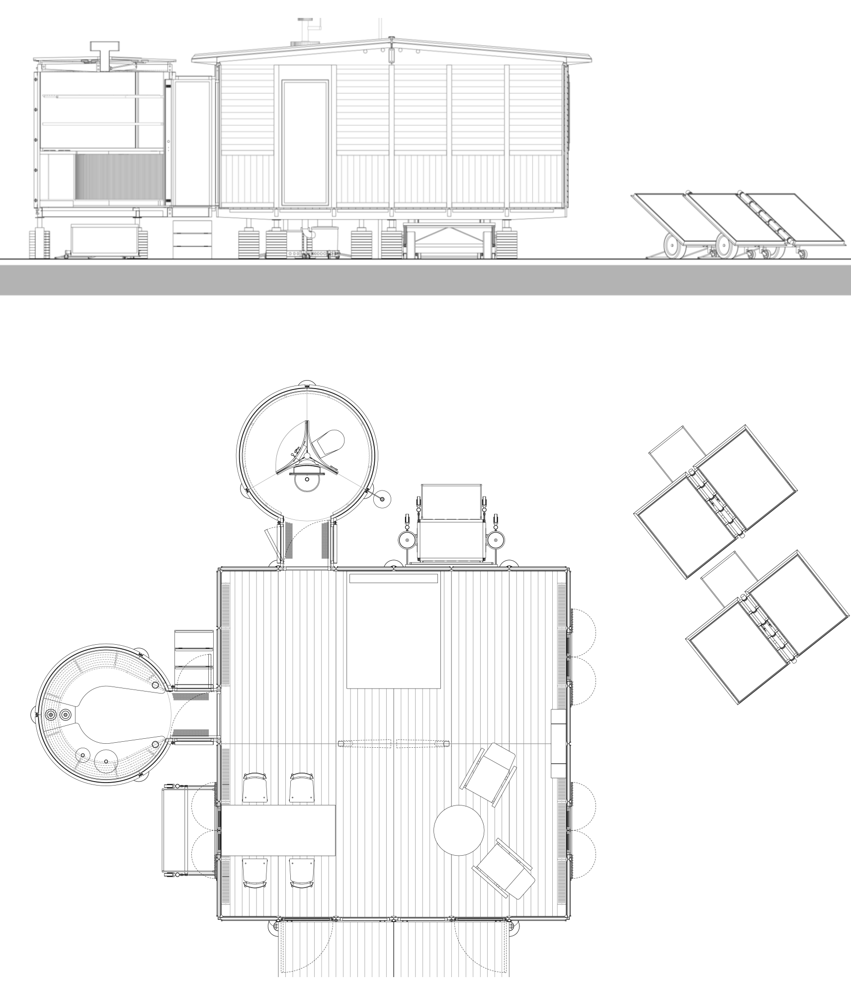Adaptation Of Jean Prouve S 6m X 6m Demountable House By