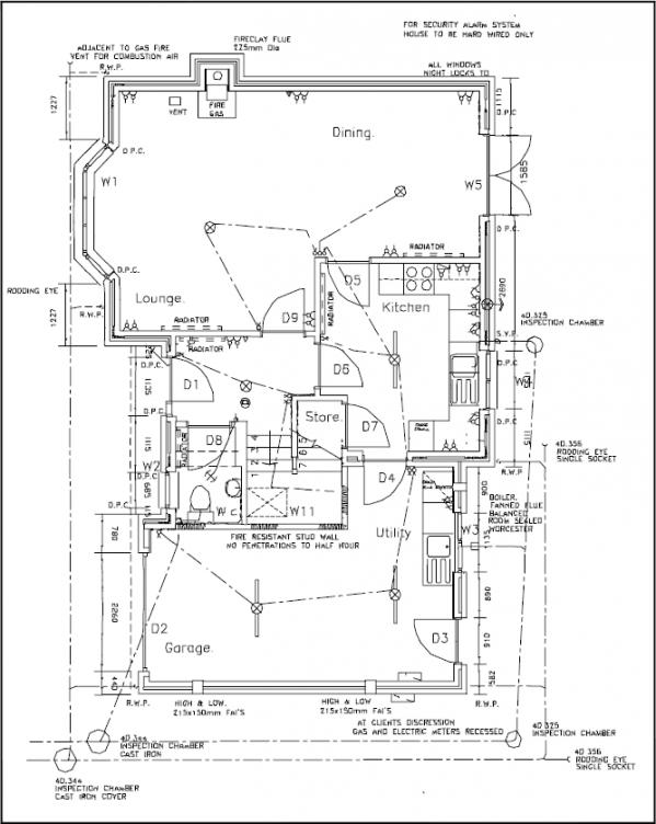 Industrial Building Blueprint Example