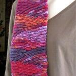 Free Slip Stitch Scarf Crochet Pattern: Slip Slope