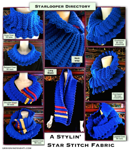 Starlooper Ring Scarf: Turn it into an infinity scarf. Or not! Nine ways to wear it.
