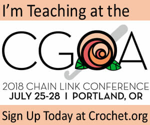 Teaching badge for the July 2018 CGOA Chain Link Conference in Portland OR.