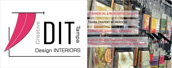 Welcome to Creative Design Interiors Tampa FL Custom Workroom Design Interiors Tampa FLorida Upholstery Company