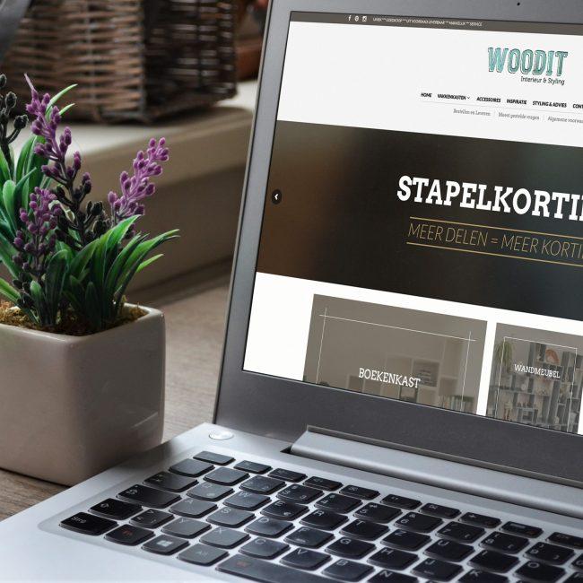 Woodit Interieur website