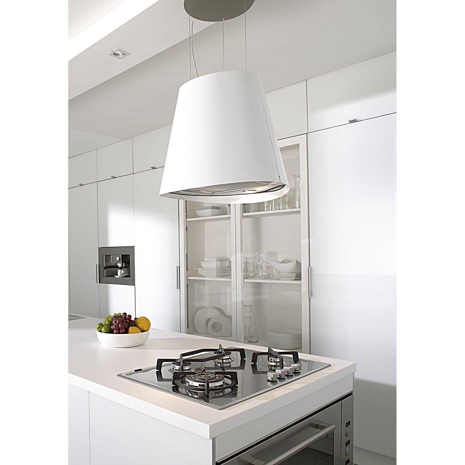 Juno Kitchen Hood White Elica Design Is This