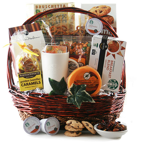 Starbucks Coffee Gift Baskets The Art Of Starbucks K Cup
