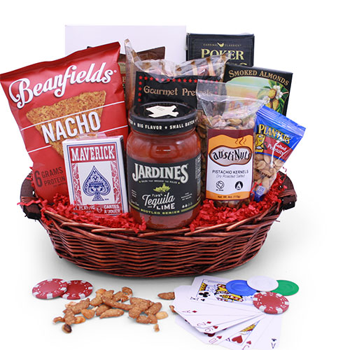 Poker Gift Baskets Casino Night Poker Gift Basket DIYGB