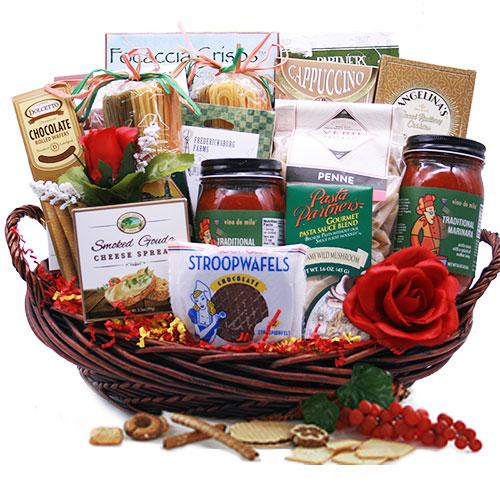Italian Gift Baskets Pastabilities Italian Gift Basket