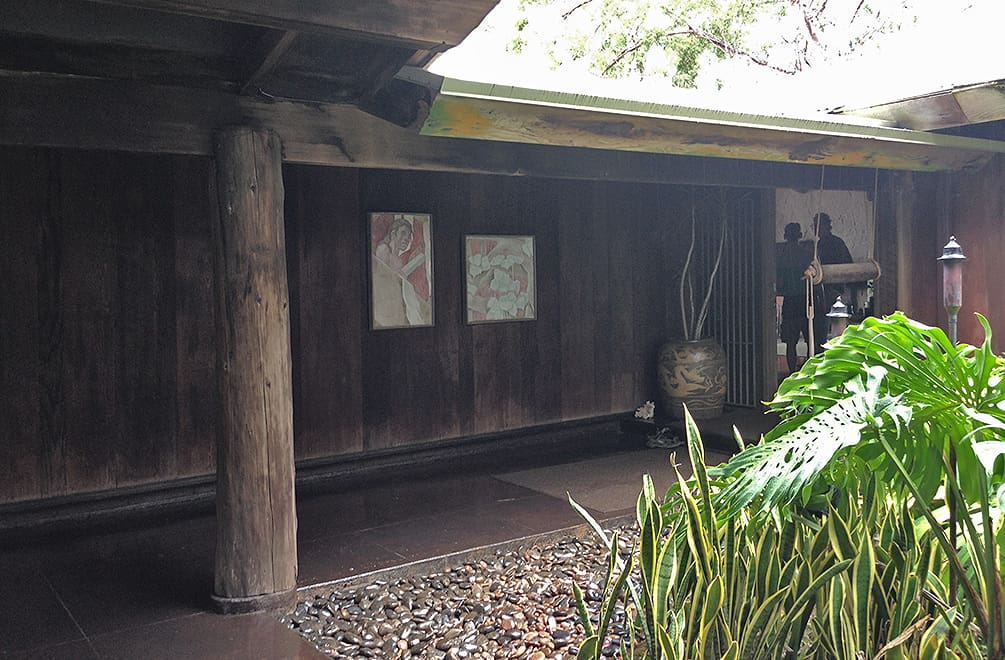 exterior of the Liljestrand House in Honolulu