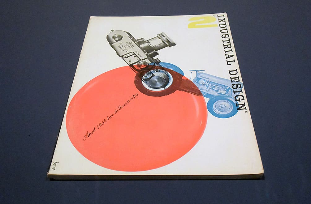 Industrial Design book cover by Alvin Lustig