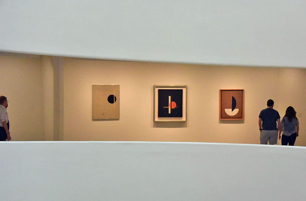 Moholy Nagy Paintings at the Guggenheim