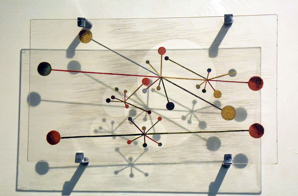 Moholy-Nagy Plastic artwork at Guggenheim