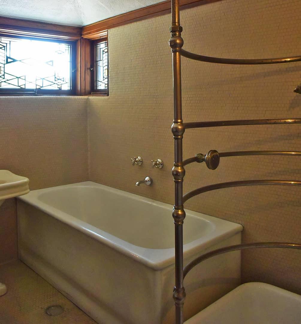 Robie House bathroom