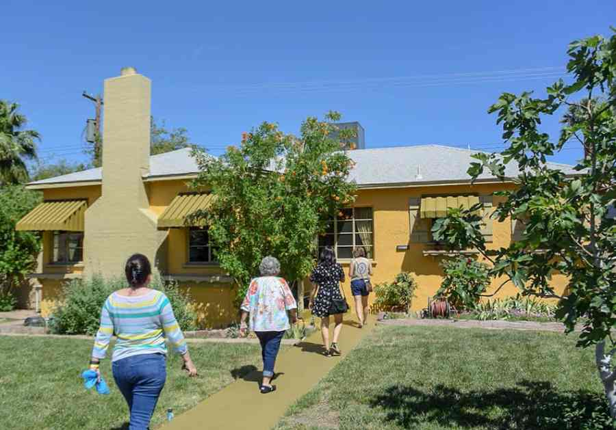 1940s home restored after fire