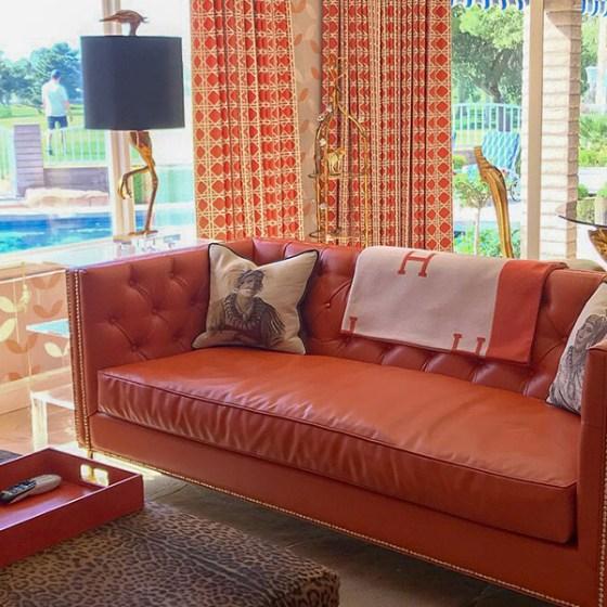 Jay Sarno House Orange Room, Las Vegas