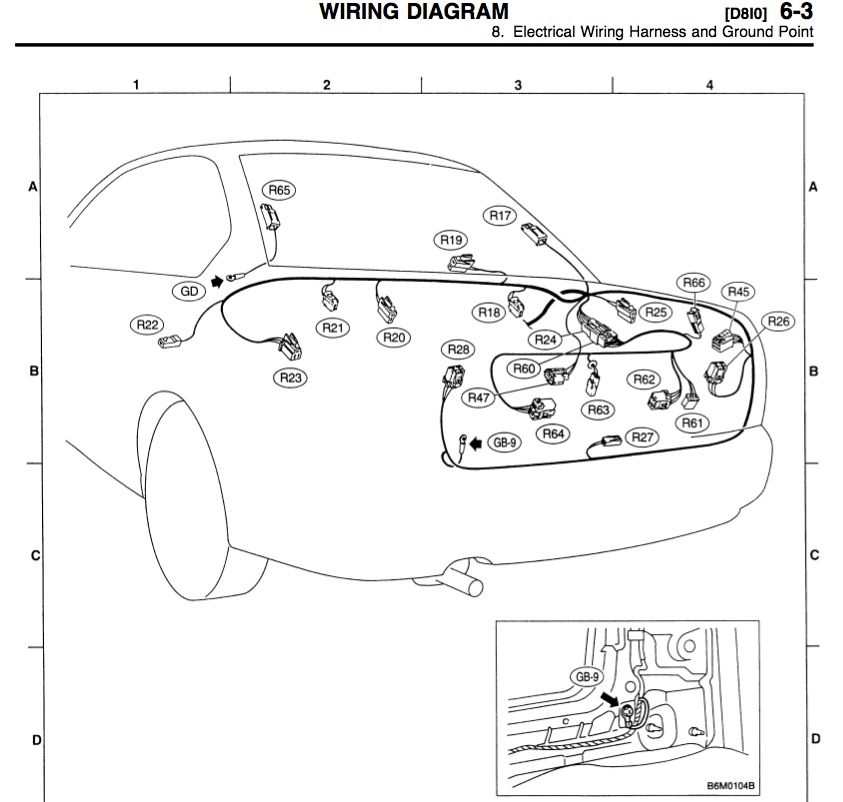 Kubota B3200 Wiring Diagram Wiring Diagram And Fuse Box