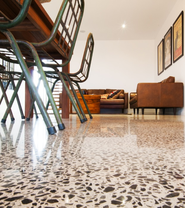 Polished Concrete Floors What To Consider - Signature Floor Polished Concrete By My Floor - Private Residence Brisbane | designlibrary.com.au