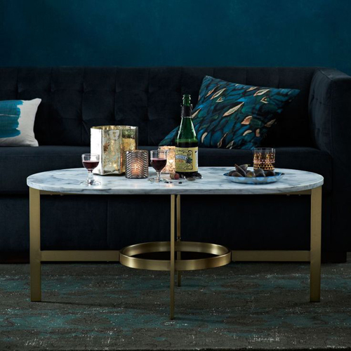 West Elm - Marble Coffee Table | designlibrary.com.au
