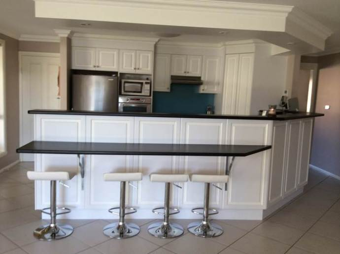 Kitchen makeovers - Granite Transformations Before