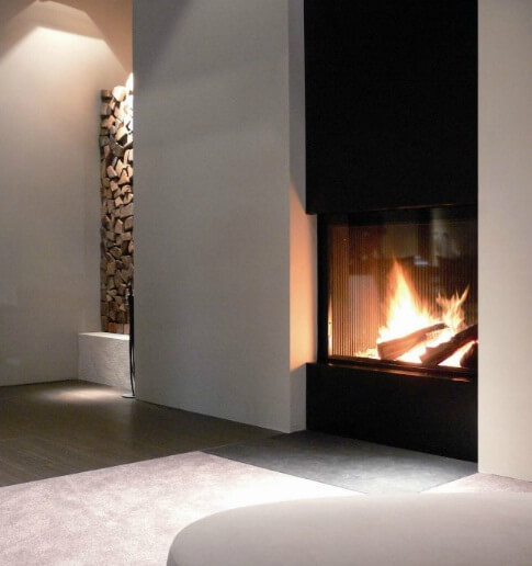 42 Gorgeous Living Room Color Ideas For Every Taste Best: Attractive Modern Fireplaces Designs