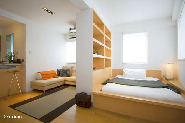 Small 450 Square Feet Apartment Design in Hong Kong ...