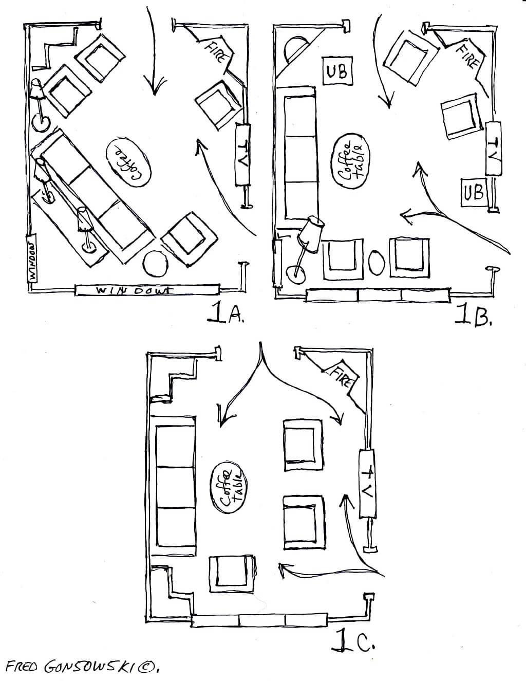Top 5 Tips To Arrange Living Room Furniture Interior