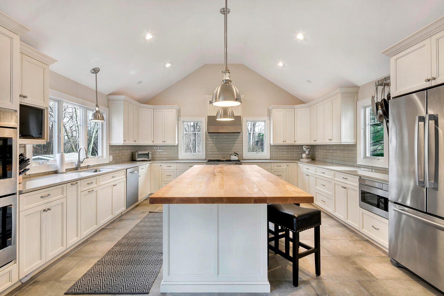 High Ceiling Kitchen Design Pictures