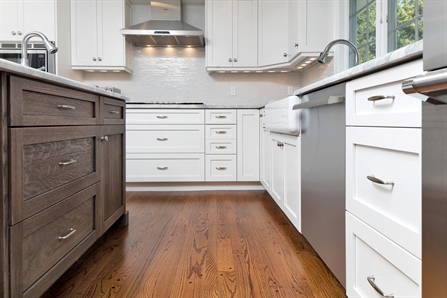 Custom Built Shaker Cabinets Sea Girt New Jersey By Design