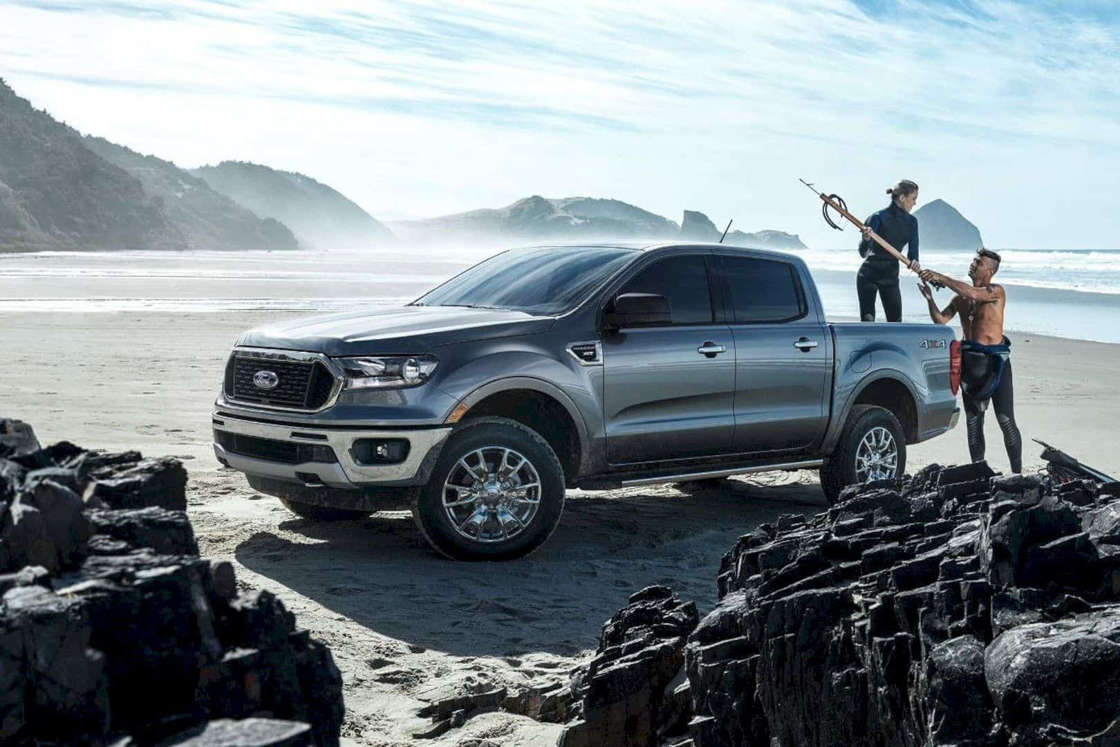 Limit is The Sky with the All-New Ford Ranger 2019