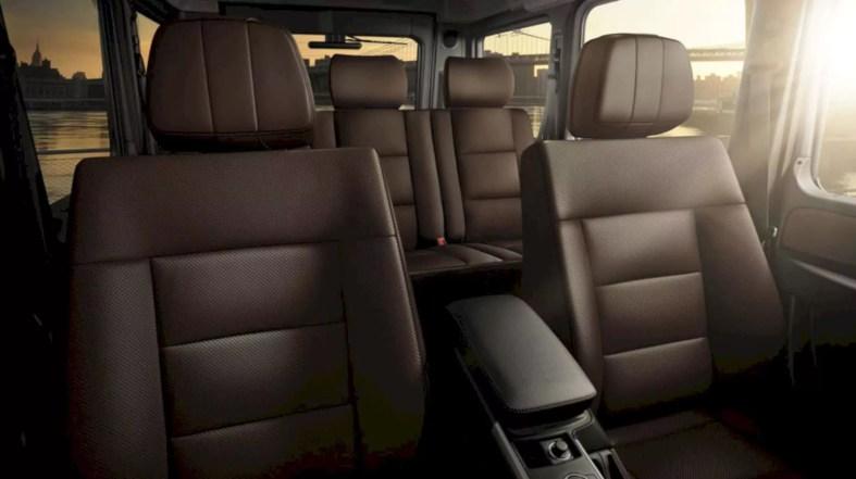 The New Mercedes Benz G Class 3