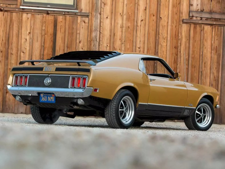 1970 Ford Mustang Mach 1 By Corvette Mike 6