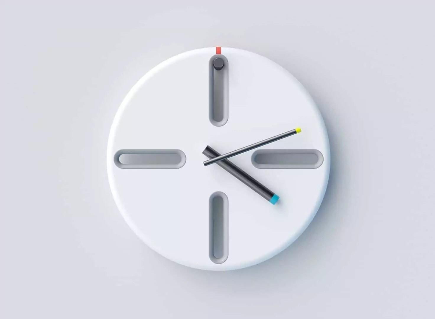 PEG Clock: A Clock with Honest Minimalist Design