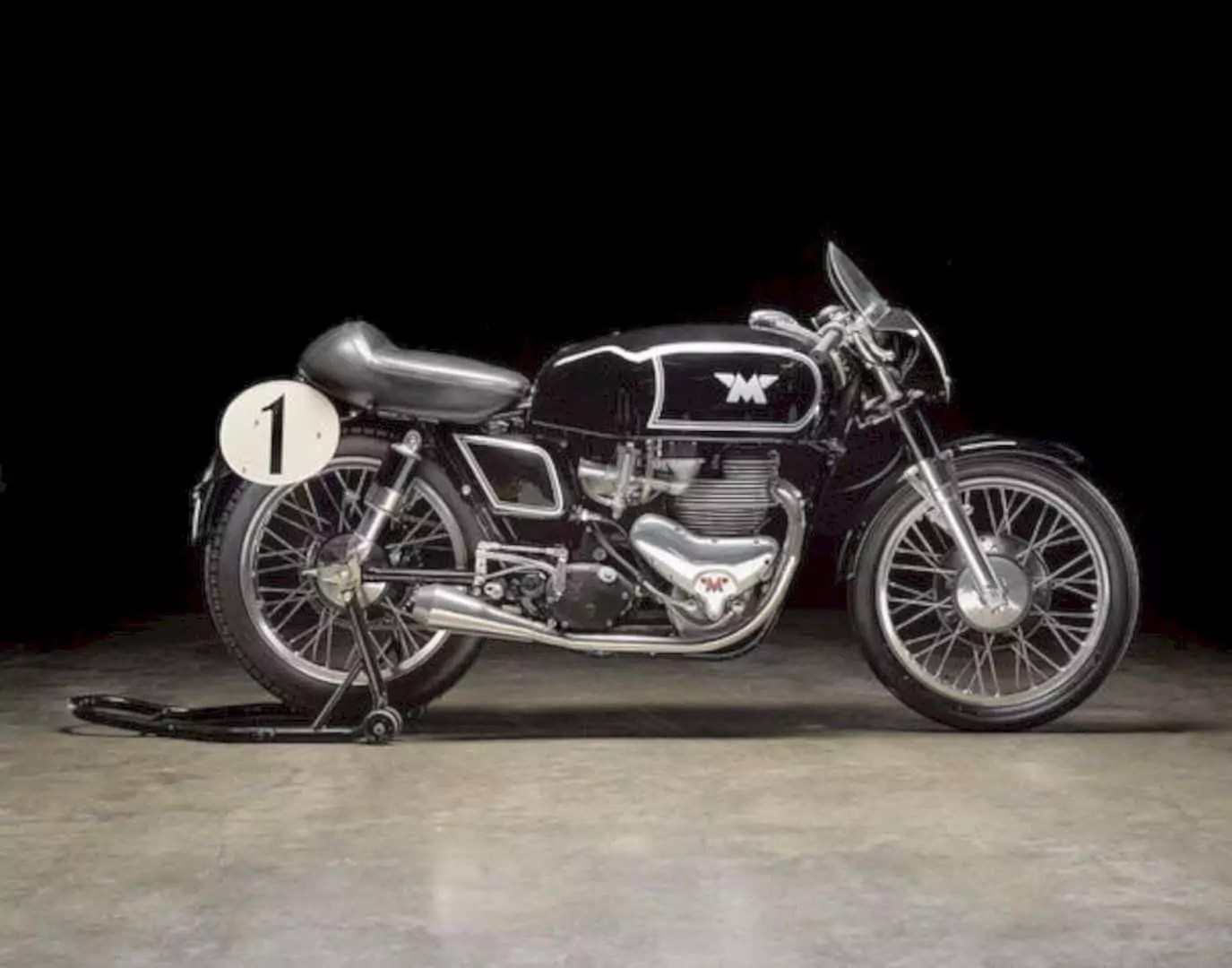 The 1955 Matchless 498cc G45 Motorcycle 1