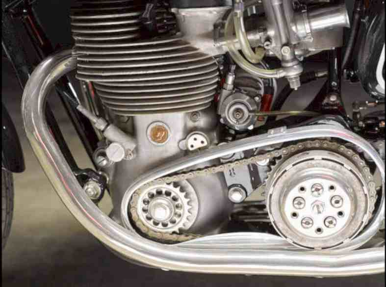 The 1955 Matchless 498cc G45 Motorcycle 6