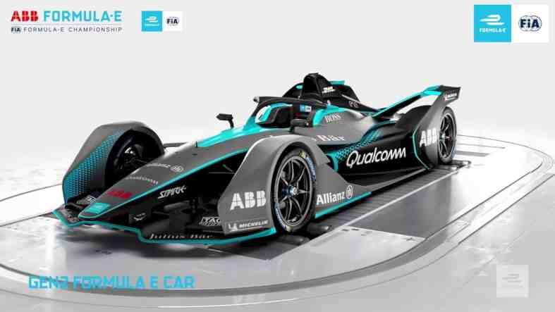 The Gen2 Formula E 7
